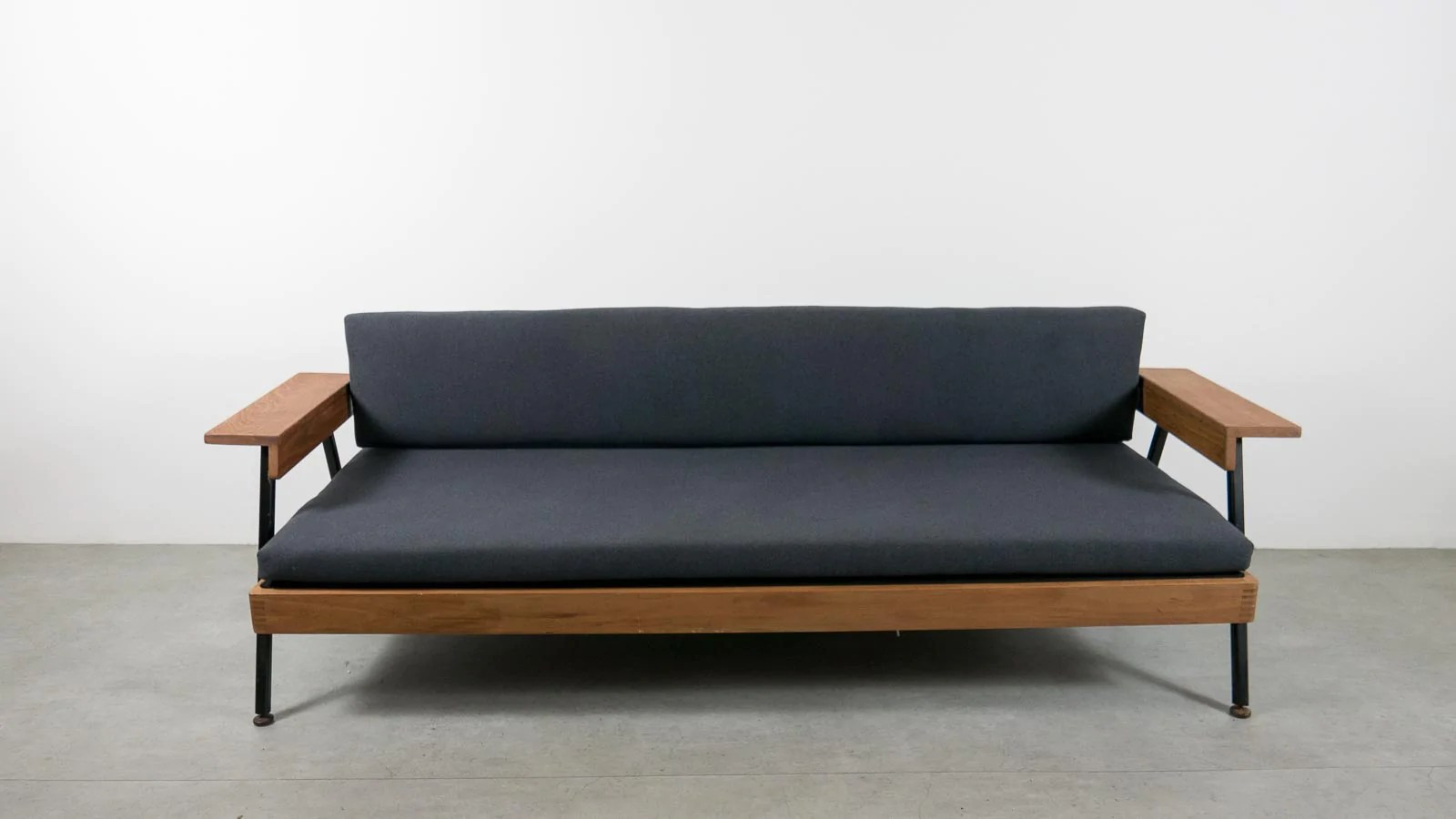 Midcentury Modern Sofa Bed Ebtd Mid Century Modern Single Sofa Bed