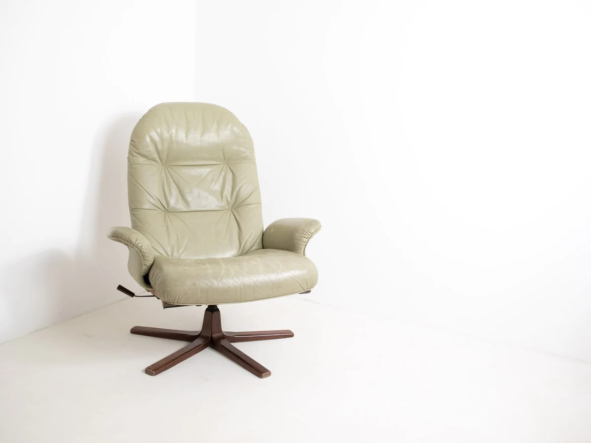 Scandinavian Möbel 1960 S Göte Möbler Swivel Chair
