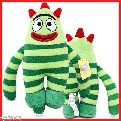 Gabbacadabra Yo Gabba Gabba Brobee Green 11 Plush Cuddle