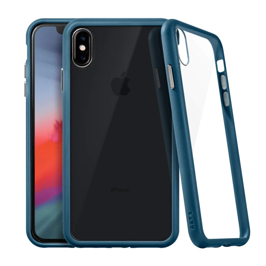 ACCENTS TEMPERED GLASS for iPhone XS Max | 9H anti-scratch crystal Glass - LAUT USA