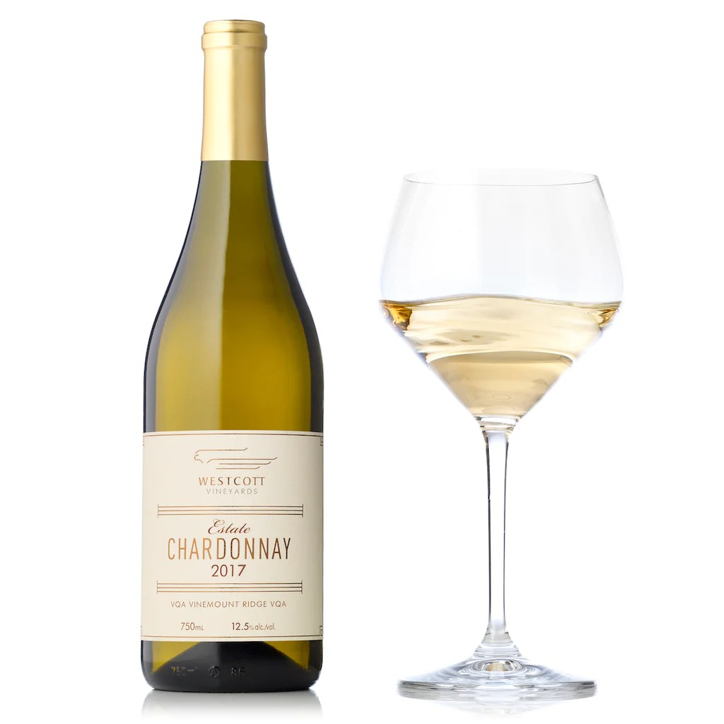 Chardonnay Wine Glass 2017 Estate Chardonnay