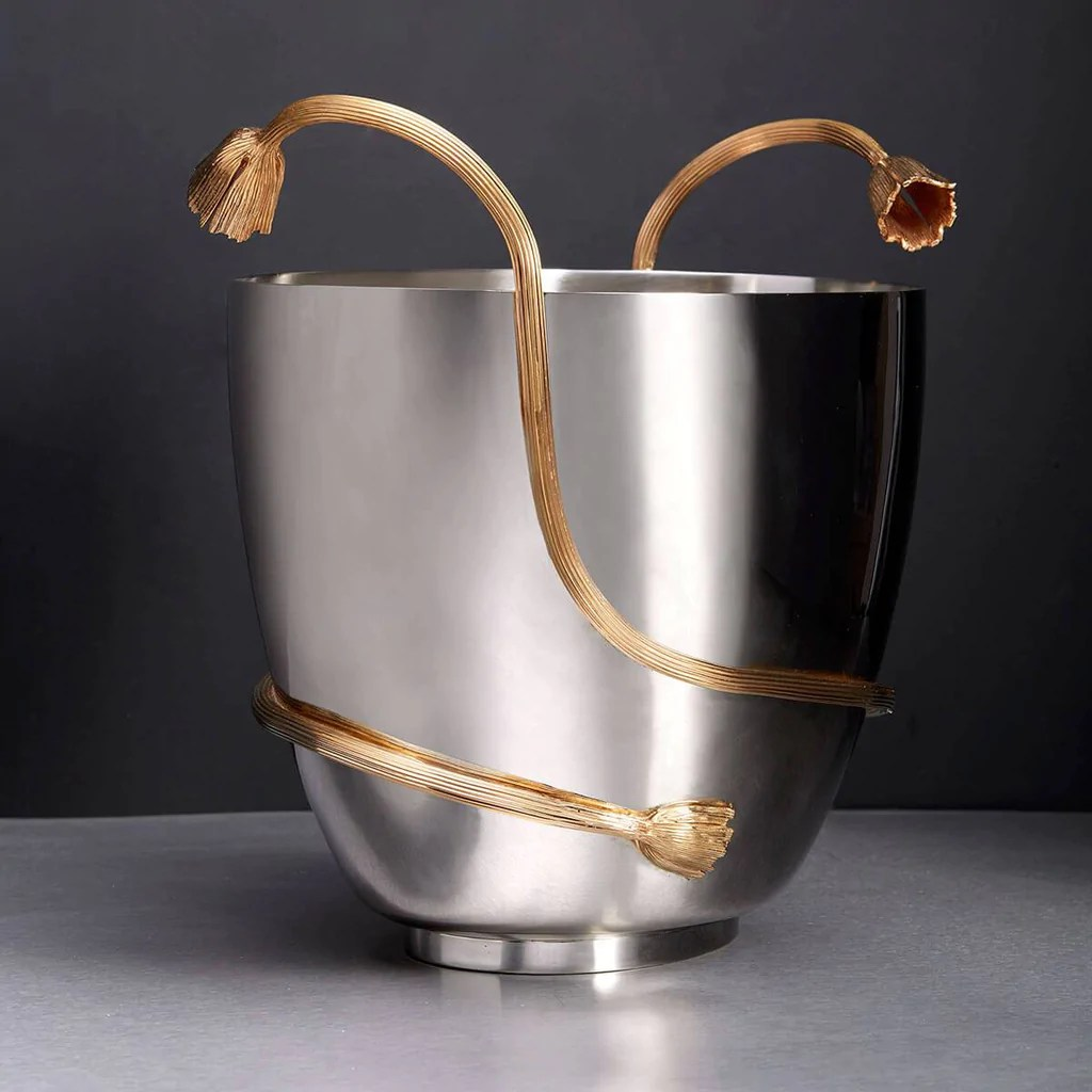 Objet Deco Deco Leaves Large Champagne Bucket