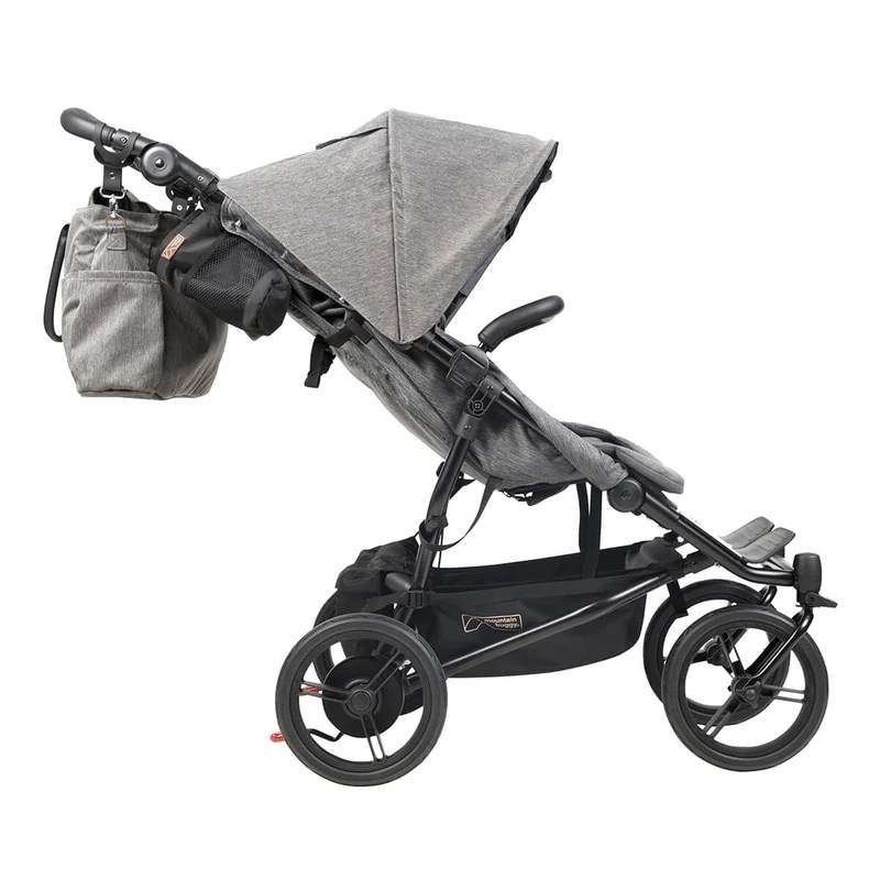 Most Compact Stroller For Newborn Mountain Buggy Duet Luxury Herringbone Stroller Little
