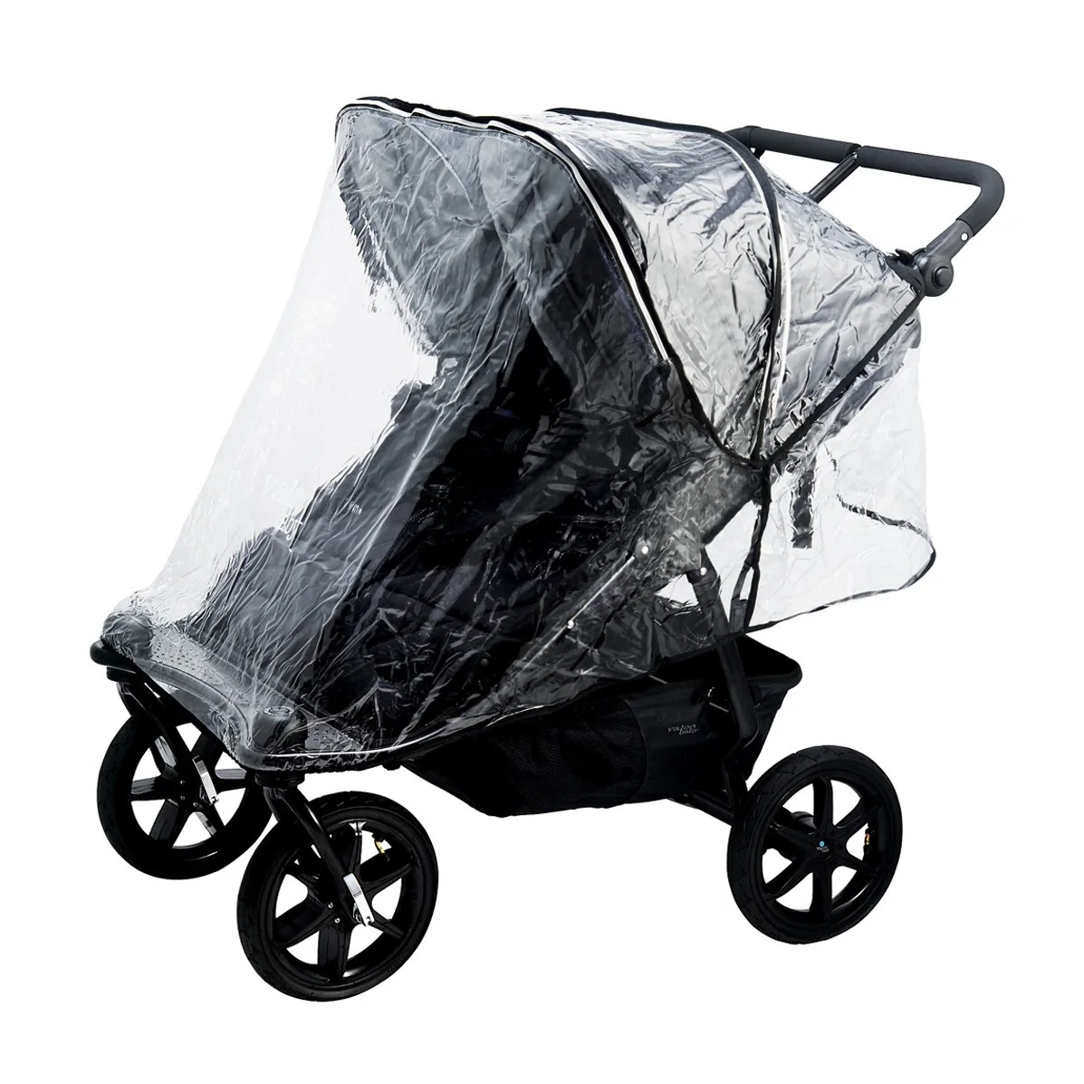 Double Stroller Rain Cover Valco Baby Neo Twin Duo X Snap Duo Trend Rain Cover