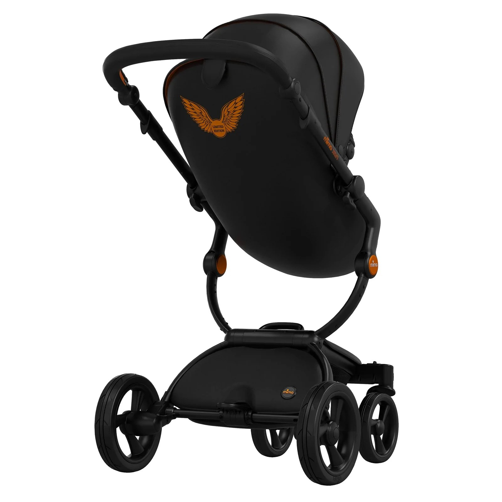 Mima Xari Seat Box 2 Snow-white Mima Xari Rebel Orange Limited Edition Stroller Bundle