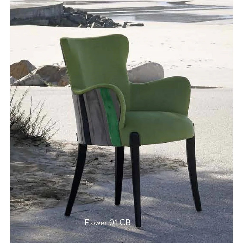 Fauteuils Chaise Fauteuil Chaise Et Tabouret Collection Flower Fenabel