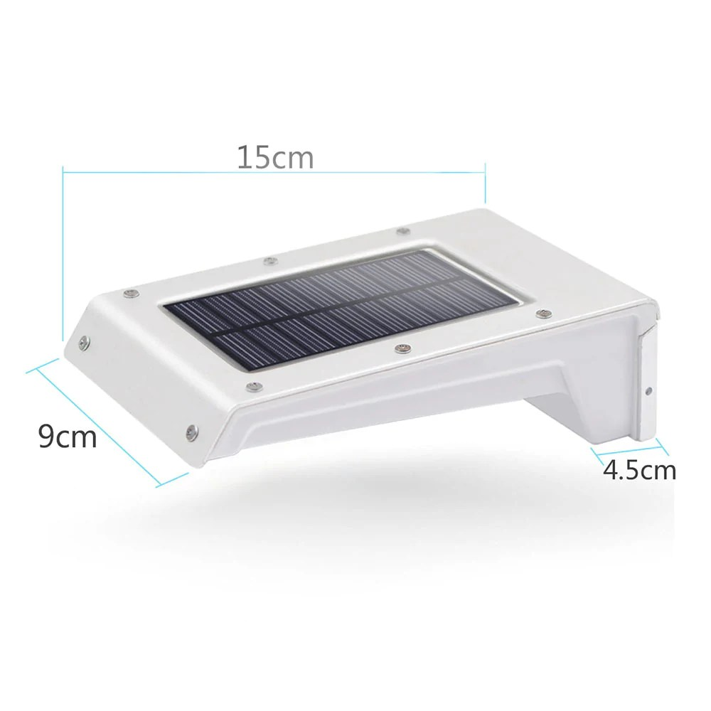 Led Solar Solar Lights 20 Led Outdoor Solar Motion Sensor Lights Solar Powered Wireless Waterproof Exterior Security Wall Light For