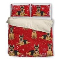 German Shepherd 1810 Christmas Bedding duvet - Ottedesign ...