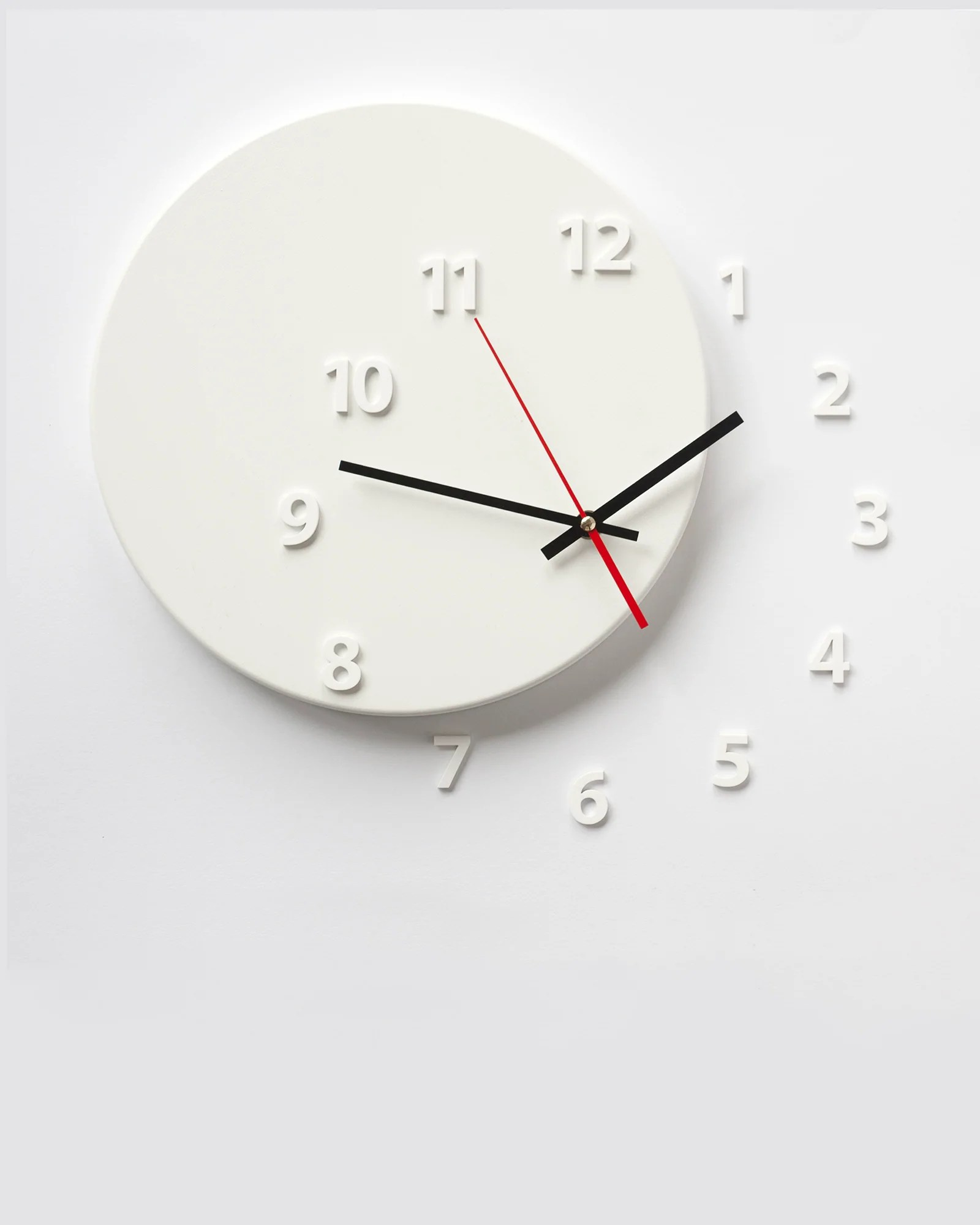 Wall Clock Design Wall Clock Out Of Time White