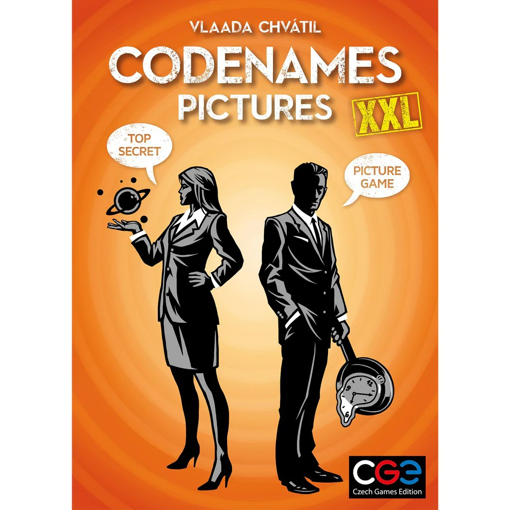 Buy Codenames Pictures Xxl Canada S Source For Gaming Jeux Cerberus Games