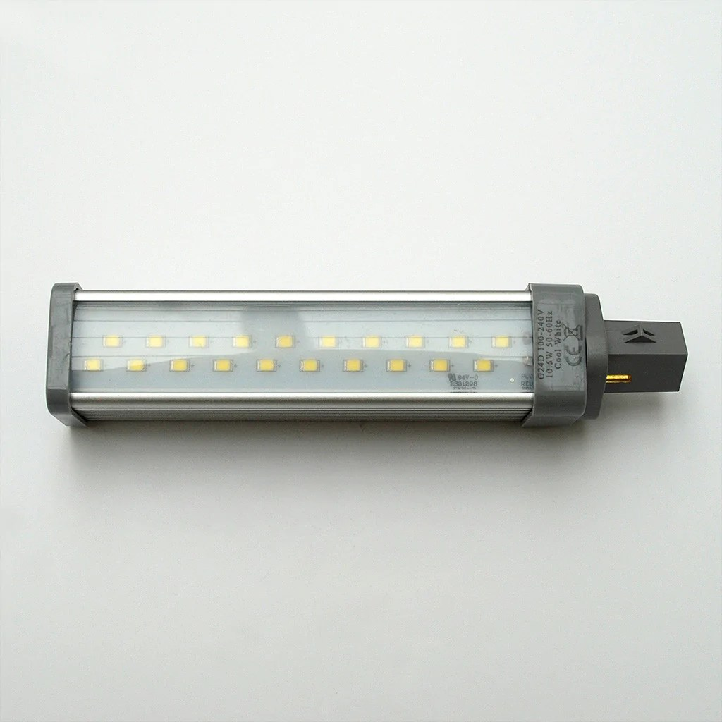 Led Verlichting 50 Lampjes G24d 20 Smd 2835 High Output Led Lamp 230v 2 Pin Boatlamps