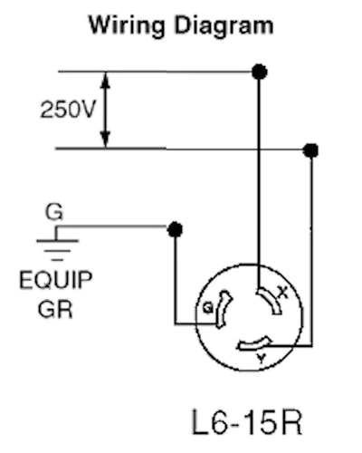 nema 6 15 wiring diagram
