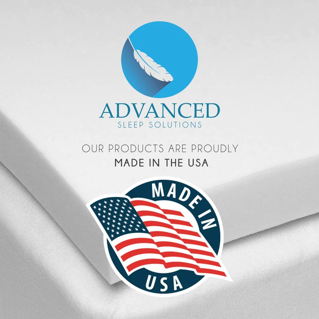 5 Inch Mattress Topper Toppers Advanced Sleep Solutions