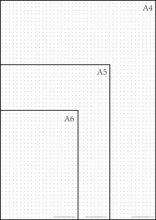 graph paper dots