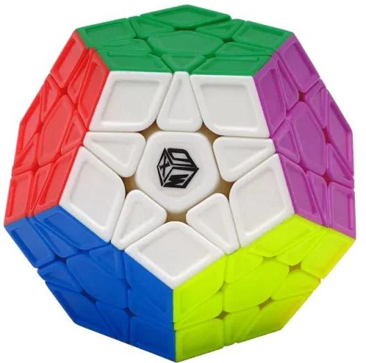 Qiyi x man galaxy megaminx sculpture speed cube