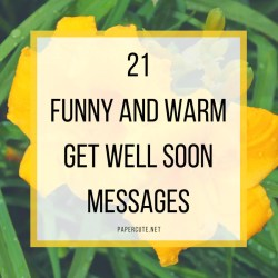 Small Of Get Well Soon Message