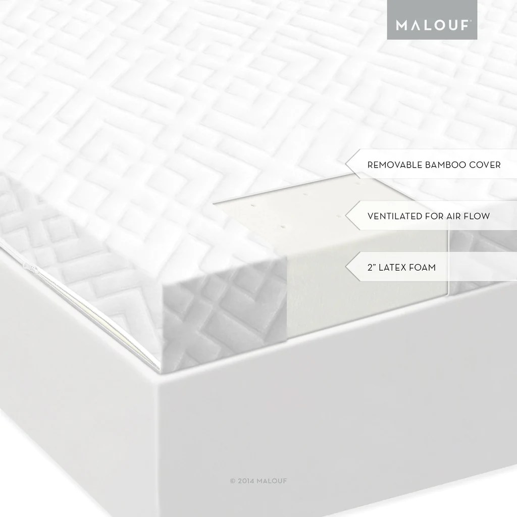 Latex Foam Mattress Malouf Isolus 2