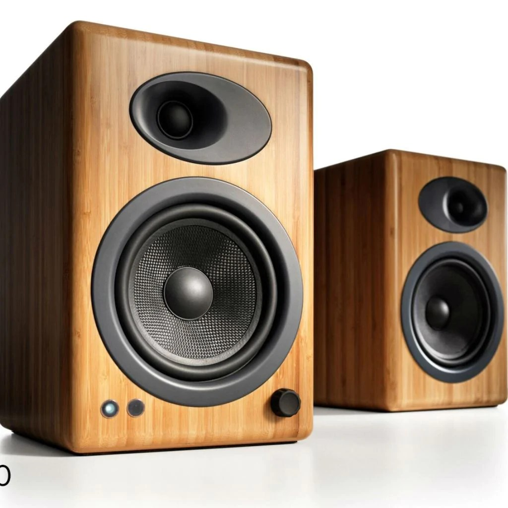 Bamboo Canada Audioengine A5 Powered Bookshelf Speakers Bamboo Premium