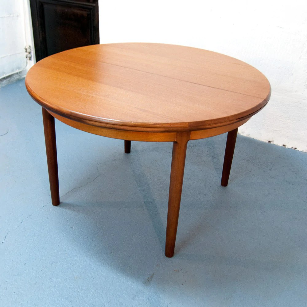Table Ronde Allonges Table Ronde Scandinave à Rallonges Vintage