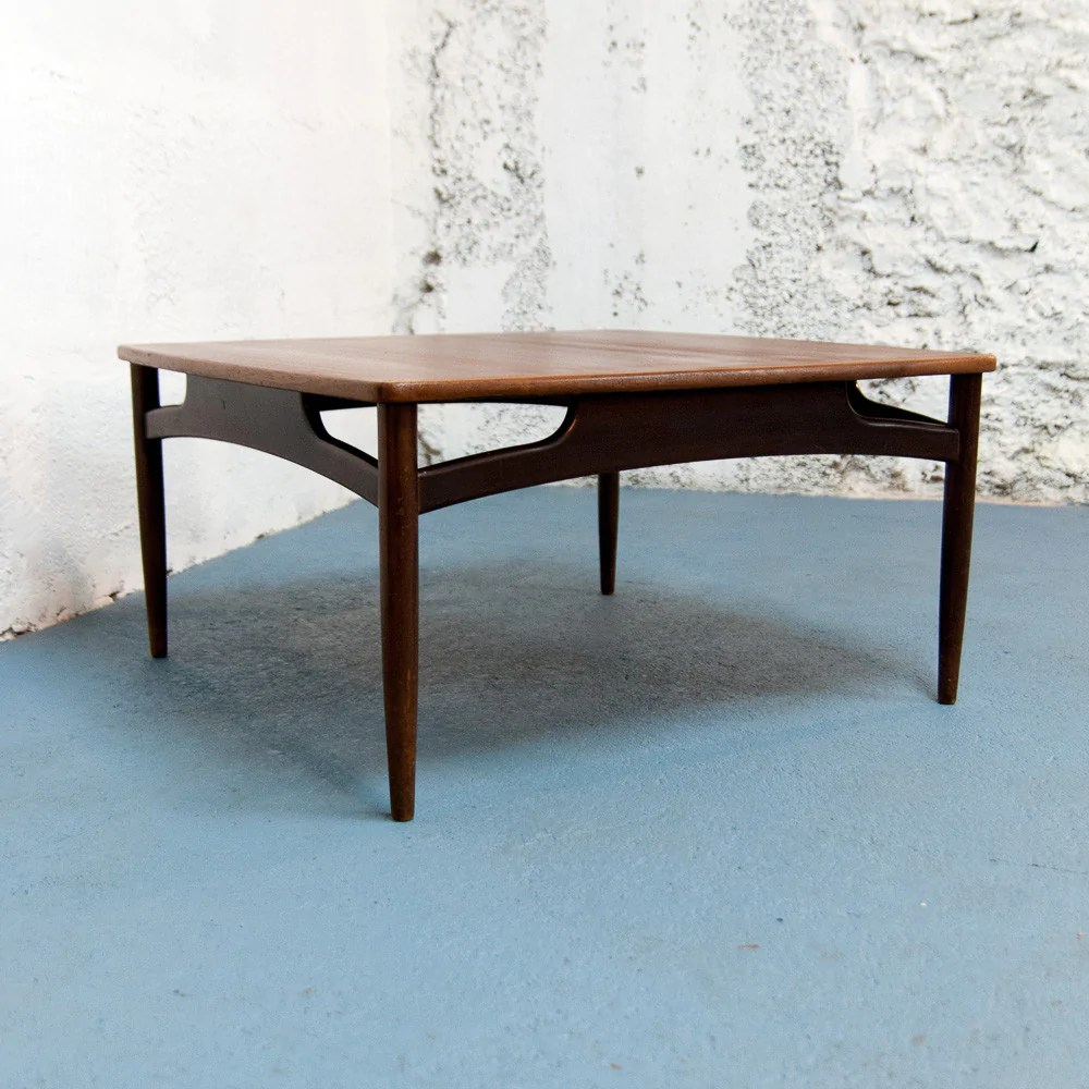 Grande Table Scandinave Grande Table Basse Scandinave Carrée Vintage