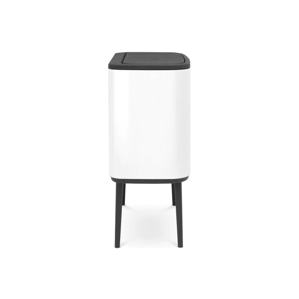 Brabantia Contact Bo Touch Bin With 2 Inner Buckets 11 23l