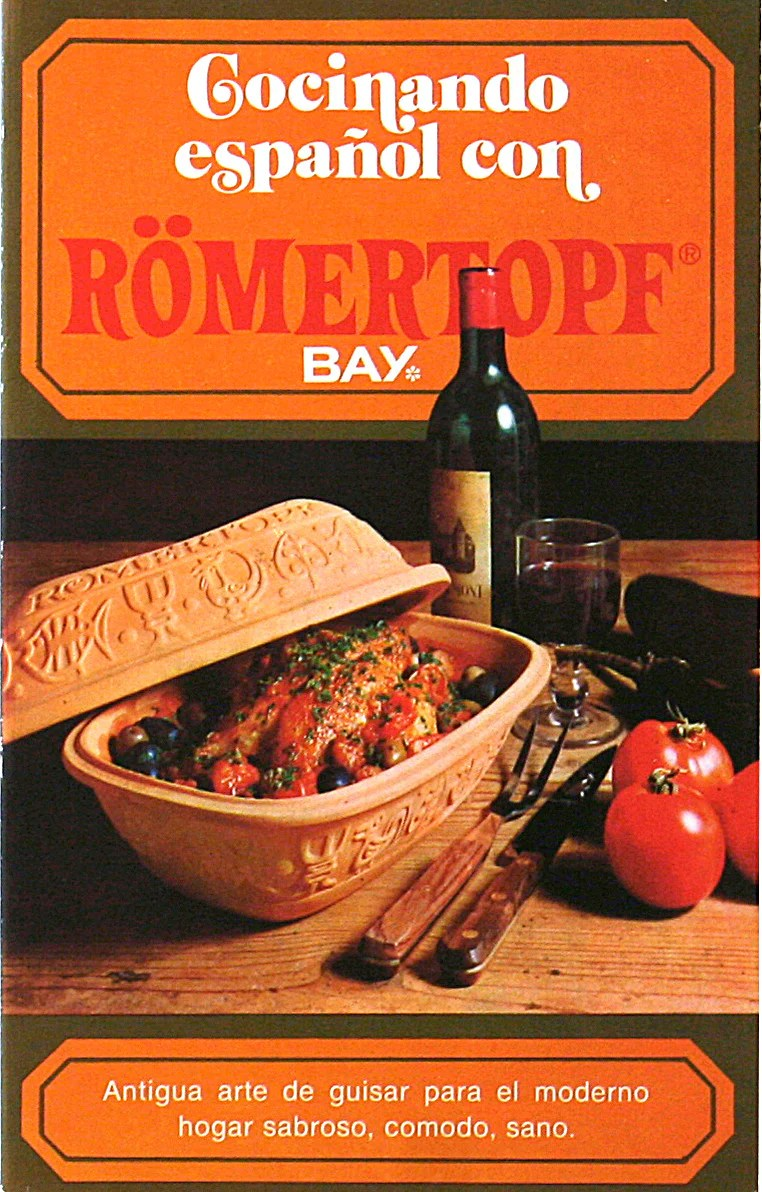 Arte Moderno Translation Romertopf Cookbook Translated In Spanish