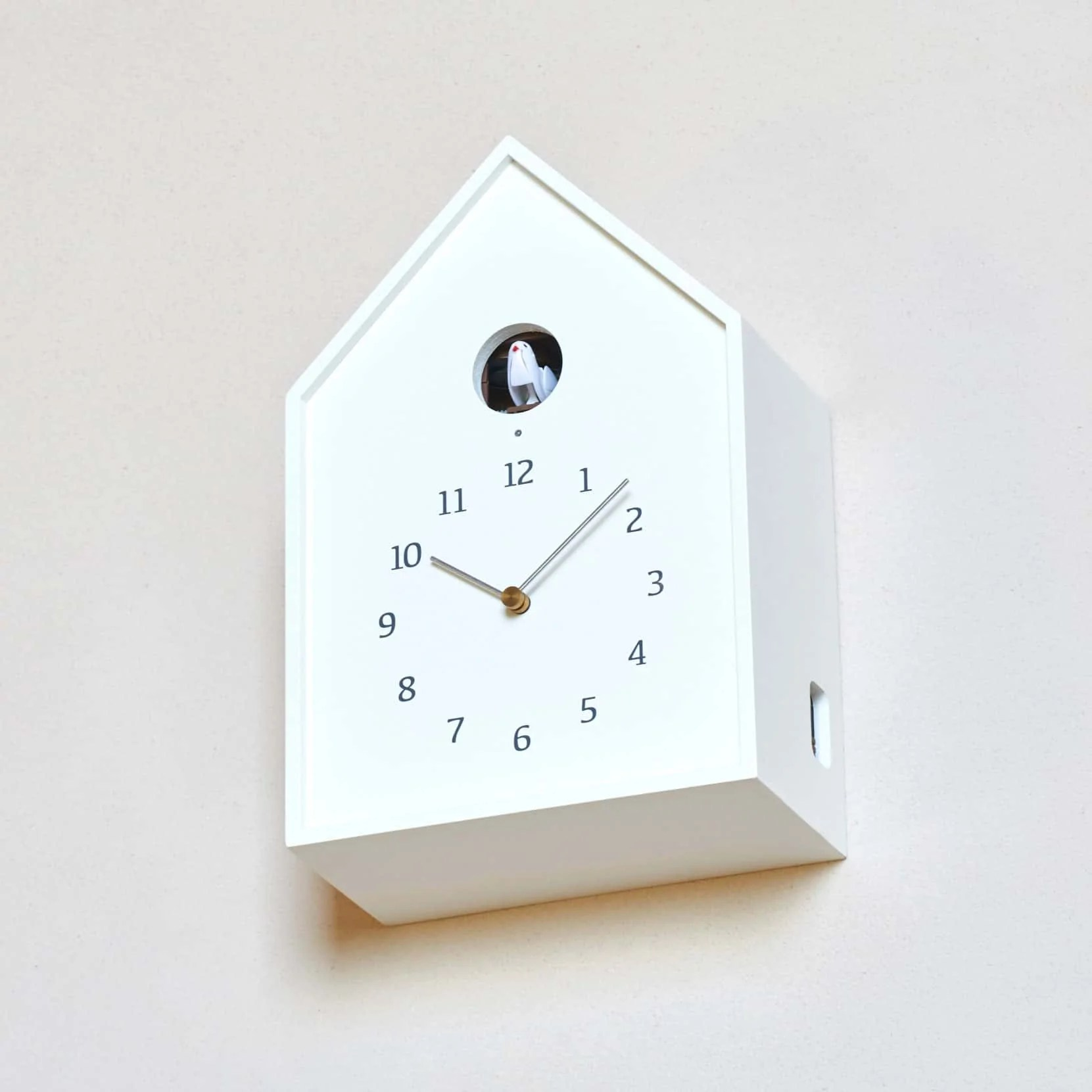 Birdhouse Clock 39birdhouse 39 Table Wall Cuckoo Clock Natural Wood By