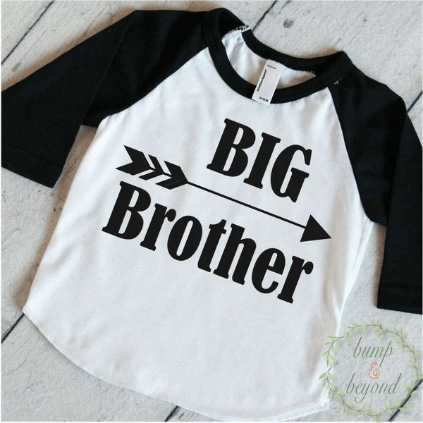 Hipster Outfit Big Brother Shirt Baby Announcement Shirt Boy Sibling