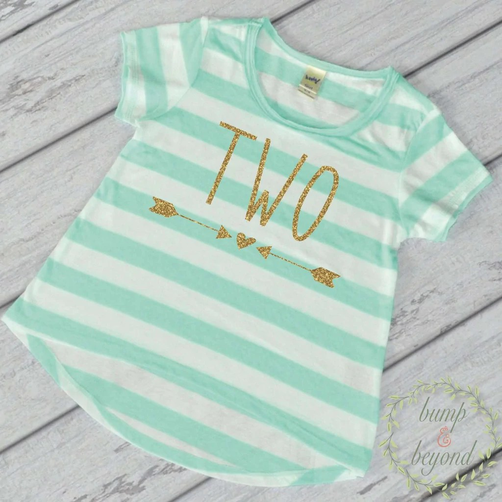 Toddler 2 Years Old Birthday Girl Second Birthday Shirt 2 Year Old Birthday Shirt Girl Two Year Old Birthday Girl Outfit Toddler T Shirt 2nd Birthday Shirt Green 133