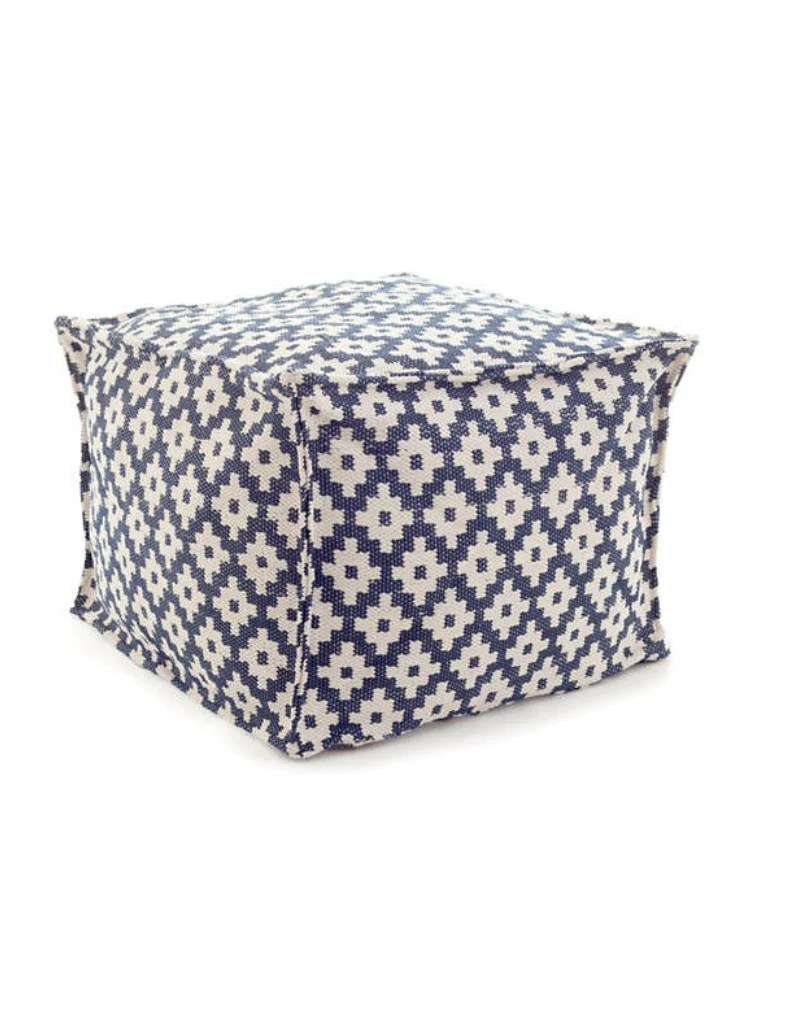 Southport Indoor Outdoor Pouf Elburne