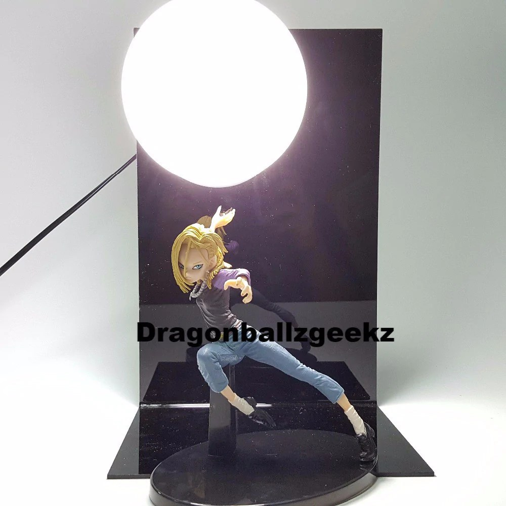 Dragon Lamps For Sale Dragon Ball Z Android 18 Lamp