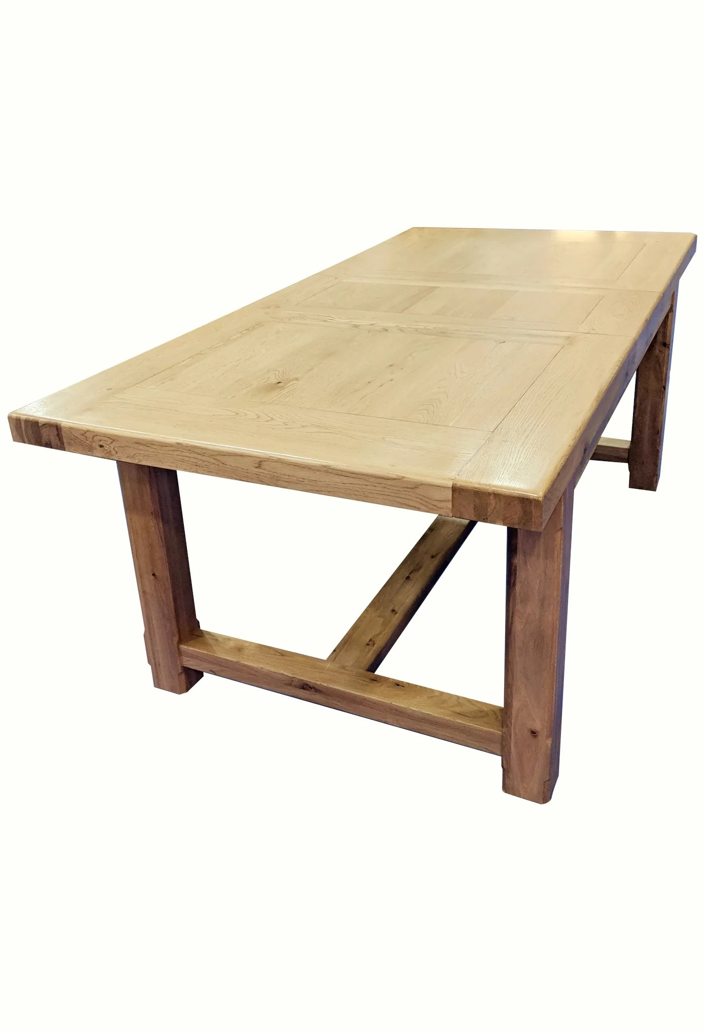 Extending Oak Table Small Empire Solid Oak Extending Dining Table Blonde Oak Range
