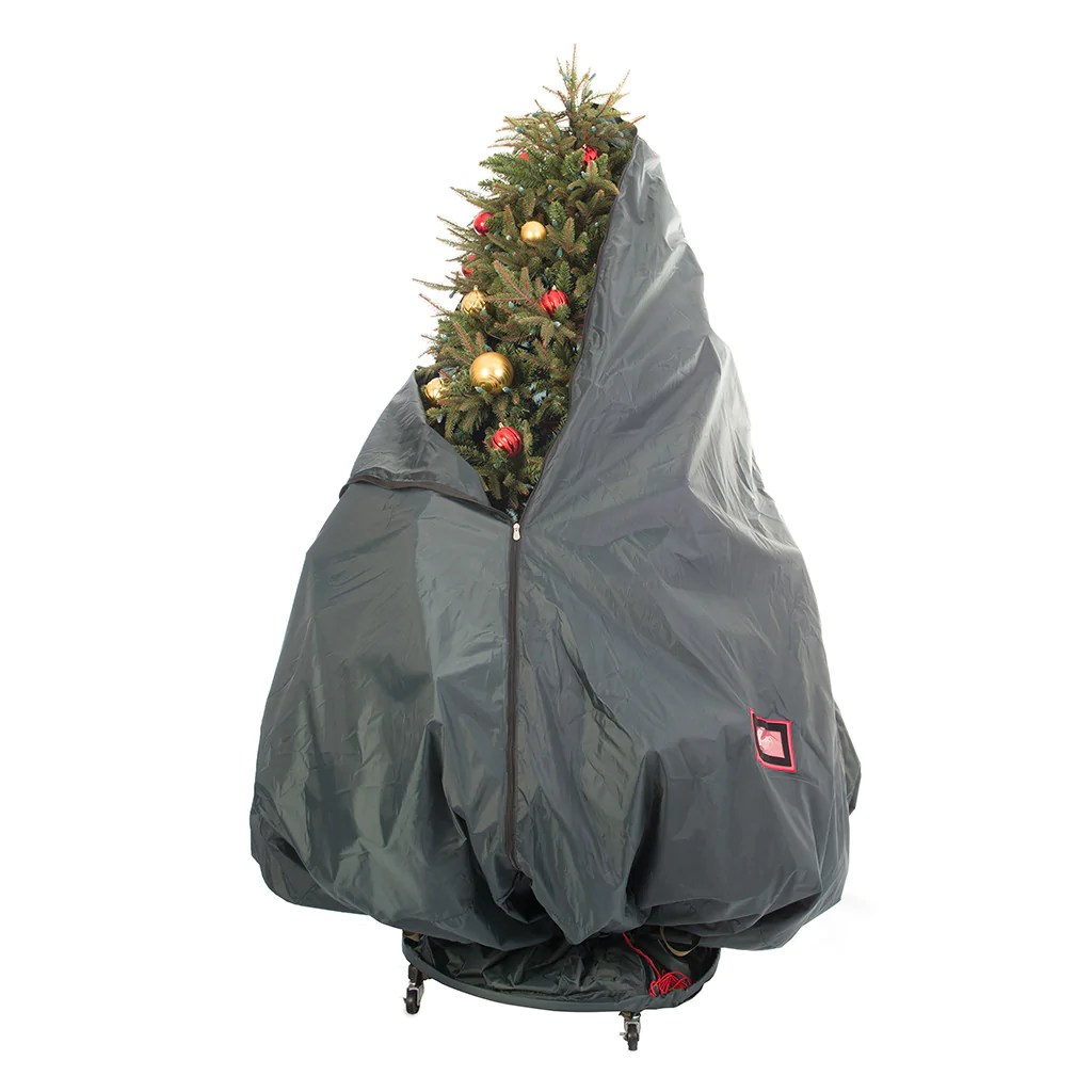 Christmas Tree Stand For Sale Treekeeper Pro Decorated Bag With Wheels On Sale Treekeeperbag