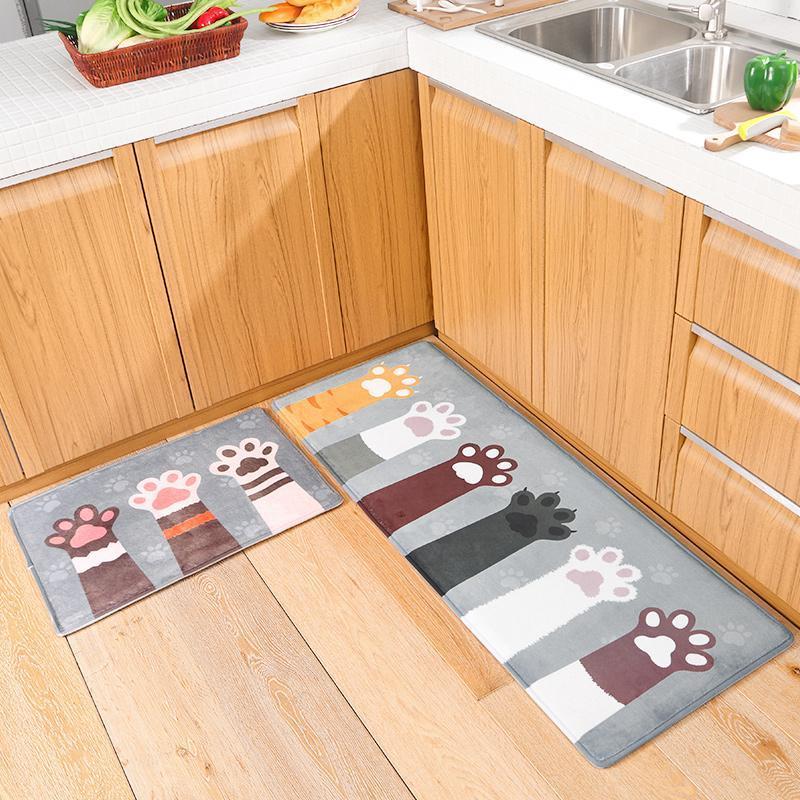 Cute Cat Paw Floor Carpet Freakypet