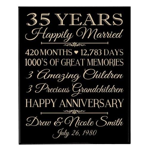 ... Medium Crop Of 35th Anniversary Gift ...