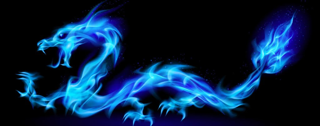 Hd Wallpaper Pack Dragons Blue Fire Dragon Lightheaded Beds