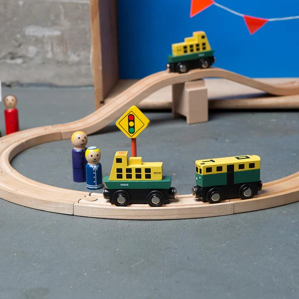 Iconic Toy Mini Melbourne Tram Makemeiconic