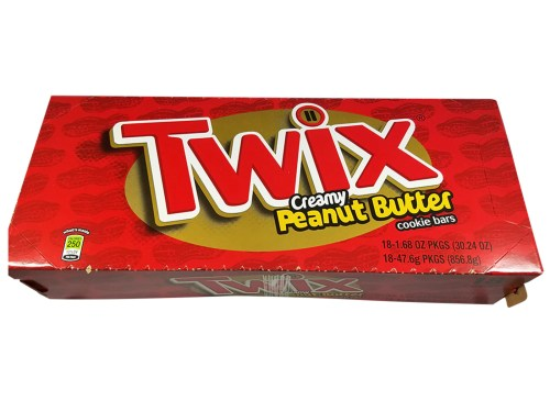 Medium Of Peanut Butter Twix