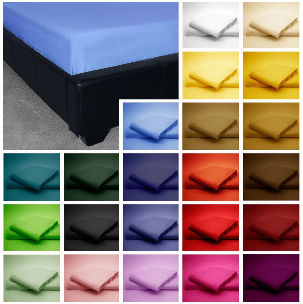 Double Bed Fitted Sheet Products Sheets Glamaxx Wholesales
