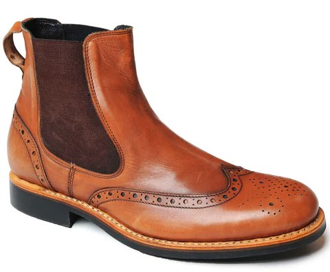 Traditional Country Footwear Brogues And Dealer Boots