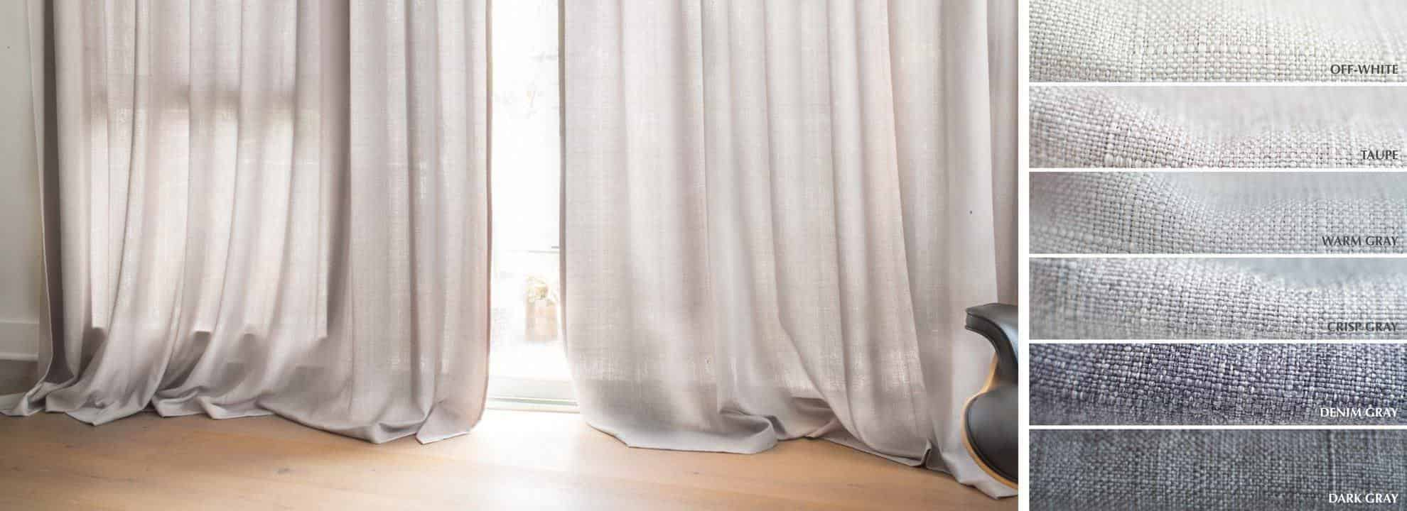 Double Wide Curtain Panels Loft Curtains Custom Curtains Made Affordable Extra Long Curtains