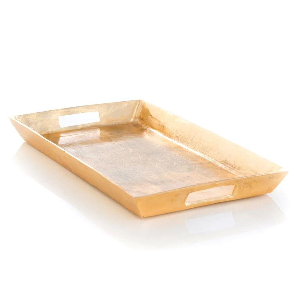 Gold Serving Tray Anders Tray Gold