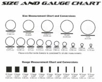 Gauge Earrings Size Chart | GARUDA Wood Earrings & Organic ...