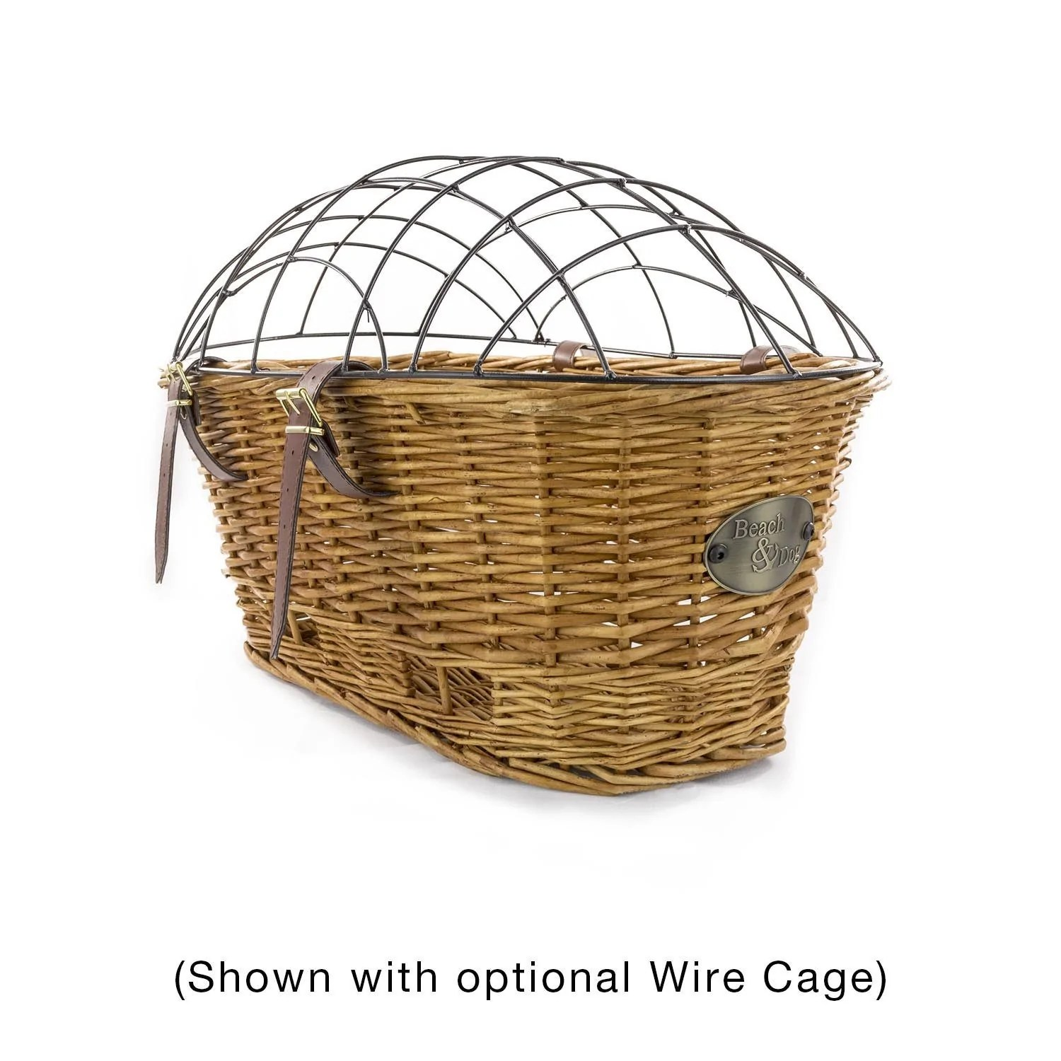 Bike Basket Big W Myrtle Beach Rear Mount Bike Basket With Cage Beach Dog Co