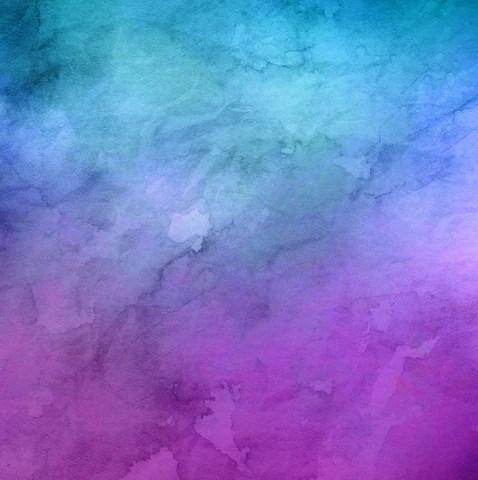 Violet Wallpaper Hd Aqua Amp Purple Watercolor Printed Vinyl Vinyl Printcess