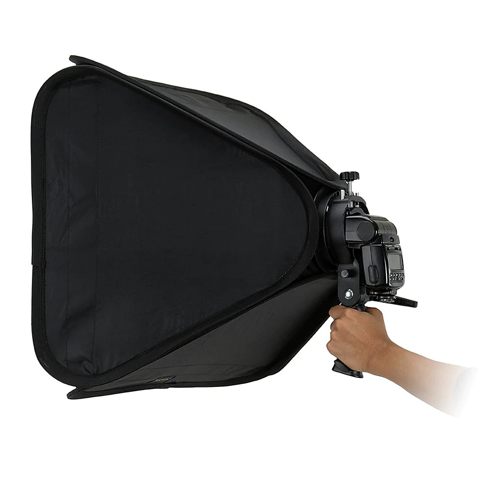 Accessories Bags Trolley Bag Foldable Broncolor Fotodiox Pro Foldable Softbox With Handled Flash Speedlight Bracket For Both Speedlights And Bowens Mount Light Modifiers