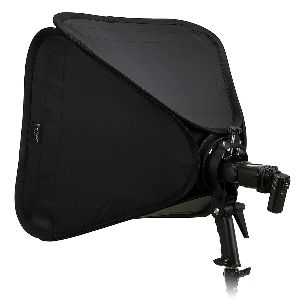 Accessories Bags Trolley Bag Foldable Broncolor Fotodiox Pro Foldable Softbox Kit With Handled Flash Speedlight Bracket Remote Radio Trigger For Both Speedlights And Bowens Mount Light Modifiers