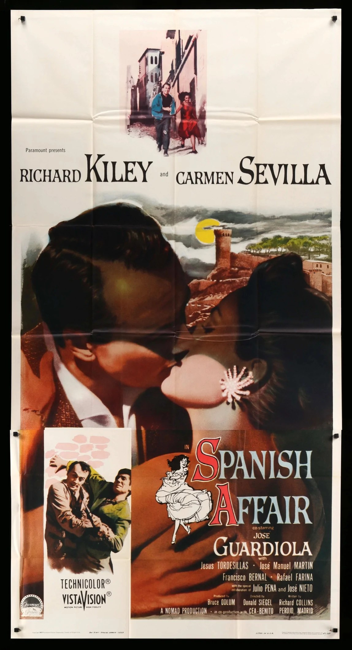 Poster In Spanish Spanish Affair 1957