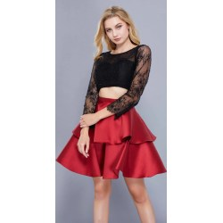Small Crop Of Long Sleeve Homecoming Dresses