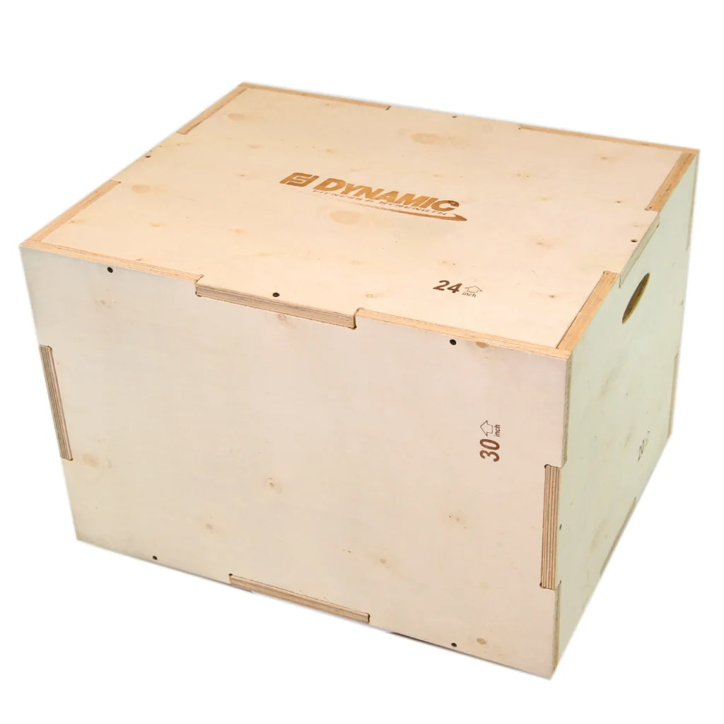 3 In 1 Wood Plyo Box Dynamic Fitness Strength